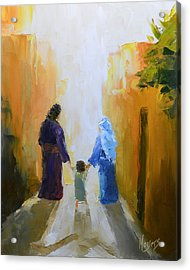 Holy Family Acrylic Print by Mike Moyers