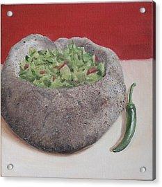 Holy Guacamole Acrylic Print