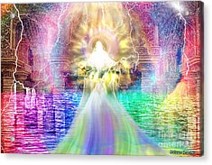 Acrylic Print featuring the digital art Holy Holy Holy by Dolores Develde
