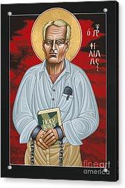 Holy Prophet Philip Berrigan 125 Acrylic Print