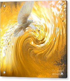 Holy Spirit Come Acrylic Print