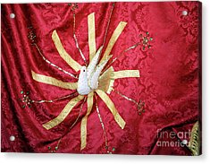 Holy Spirit Flag Acrylic Print by Gaspar Avila