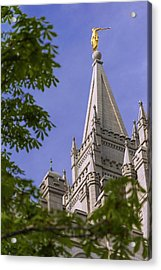 Holy Temple Acrylic Print by Chad Dutson