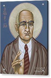 Holy Theologian Hans Urs Von Balthasar 110 Acrylic Print