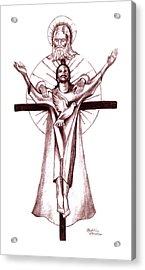 Holy Trinity Acrylic Print