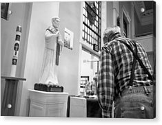 Acrylic Print featuring the photograph Holy Water by Jeanette O'Toole