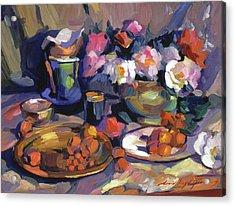 Homage To Cezanne Acrylic Print