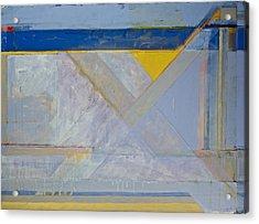Homage To Richard Diebenkorn's Ocean Park Series  Acrylic Print