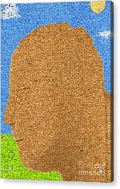Homage To Seurat In Carpet Acrylic Print by Andy  Mercer