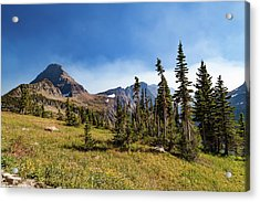 Acrylic Print featuring the photograph Homage To The Mountains  by Lon Dittrick