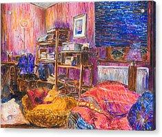 Home Alone Acrylic Print by Nik Helbig