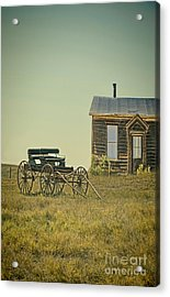 Home And Buggy On The Prairie Acrylic Print