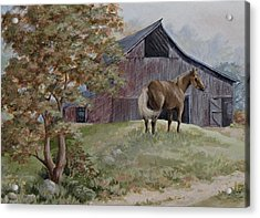 Home At Last Acrylic Print by Kathleen Keller