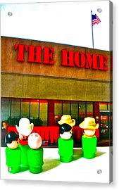 Home Away From Home Acrylic Print
