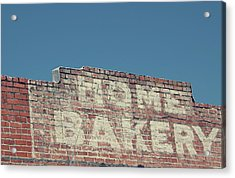 Home Bakery- Photo By Linda Woods Acrylic Print
