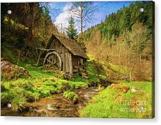 Home By Sarah Kirk Acrylic Print