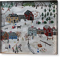 Home For The Hoildays Acrylic Print by Lee Gray