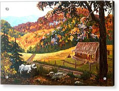 Home From The Hunt Acrylic Print by Nyiece Pregeant Owens