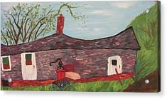 Home In Feeding Hills Part 2 Acrylic Print by Suzanne  Marie Leclair