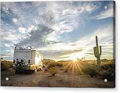 Home In The Desert Acrylic Print