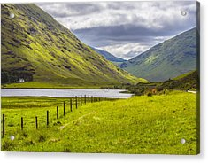 Acrylic Print featuring the photograph Home In The Mountains by Steven Ainsworth