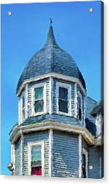 Home In Winthrop By The Sea Acrylic Print