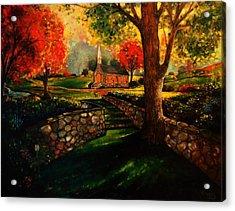 Home Is Home Acrylic Print