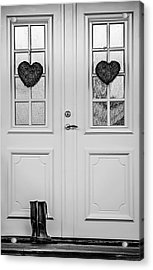 Home Is Where The Heart Is Acrylic Print by Maggie Terlecki
