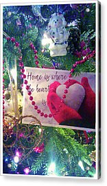 Acrylic Print featuring the photograph Home Is Where The Heart Is by Toni Hopper