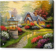 Home Is Where You Find Real Love Acrylic Print
