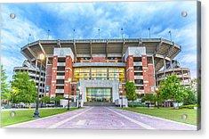 Home Of Champions -- Bryant-denny Stadium Acrylic Print by Stephen Stookey