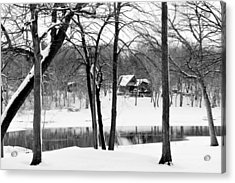 Home On The River Acrylic Print