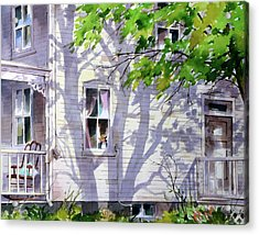 Home Shadows Acrylic Print by Art Scholz
