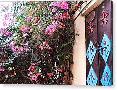 Home Acrylic Print by Sunaina Serna Ahluwalia