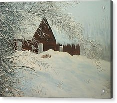 Home Sweet Home Acrylic Print by Bev  Neely