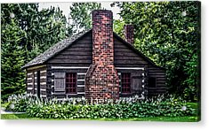 Home Sweet Home Acrylic Print by Joann Copeland-Paul