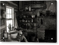 Acrylic Print featuring the photograph Home Sweet Home Kitchen by Joanne Coyle
