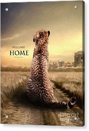 Acrylic Print featuring the photograph Home2 by Christine Sponchia