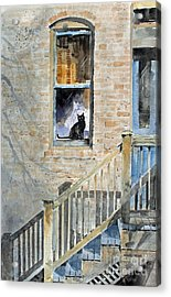 Homecoming Acrylic Print by Monte Toon