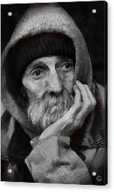 Acrylic Print featuring the digital art Homeless by Gun Legler