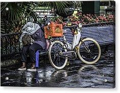 Homeless In New Orleans, Louisiana Acrylic Print