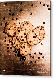 Homemade Biscuits Acrylic Print by Jorgo Photography - Wall Art Gallery