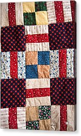 Homemade Quilt Acrylic Print by Christopher Holmes