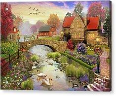 Homestead Acrylic Print by MGL Meiklejohn Graphics Licensing