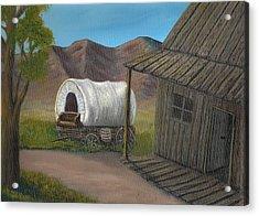Homestead Acrylic Print