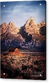 Acrylic Print featuring the photograph Homesteader by Scott Kemper