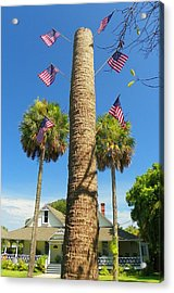 Hometown Fourth Acrylic Print by Sheri McLeroy