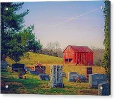 Hometown Acrylic Print