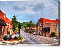 Hometown America Acrylic Print by Dale R Carlson