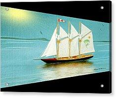 Homeward Bound Acrylic Print by Madeline  Allen - SmudgeArt